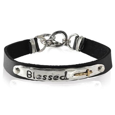 Blessed Leather Bracelet  -