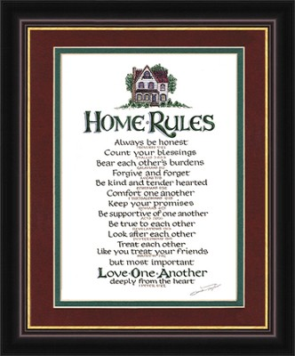 Home Rules (12 x 14)   -