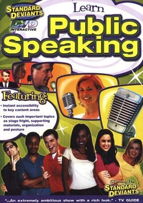 Public Speaking DVD   -