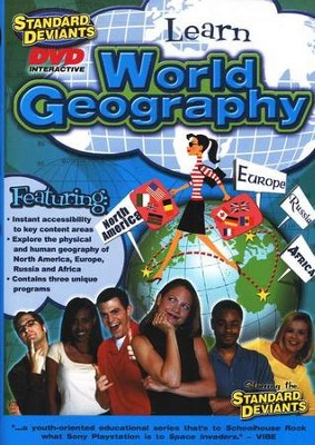 Standard Deviants, World Geography DVD   -