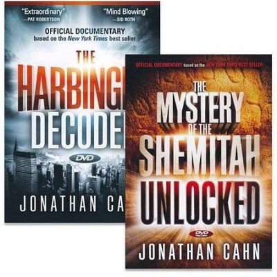 The Harbinger Decoded/The Mystery of the Shemitah Unlocked--DVDs  -     By: Jonathan Cahn