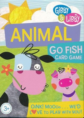 Animal Go Fish Card Game   -
