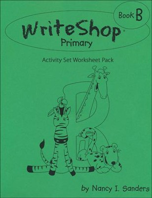 WriteShop Activity Set Worksheet Pack, Book B   -