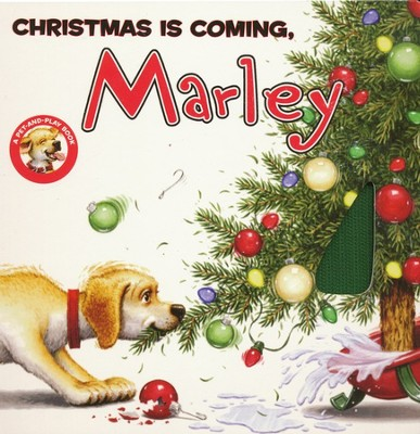 Christmas Is Coming, Marley   -     By: John Grogan     Illustrated By: Richard Cowdrey