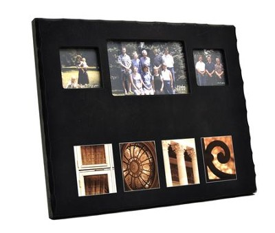Blank, Large Home Photo, Black   -