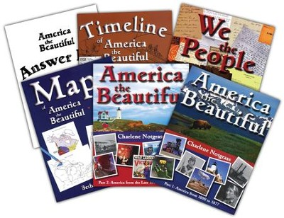 America the Beautiful Curriculum Package   -     By: Charlene Notgrass