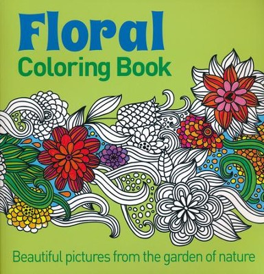 Floral Coloring Book  -     By: Arcturas