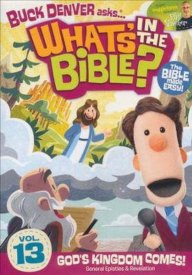 What's in the Bible? #13: God's Kingdom Comes, DVD   -