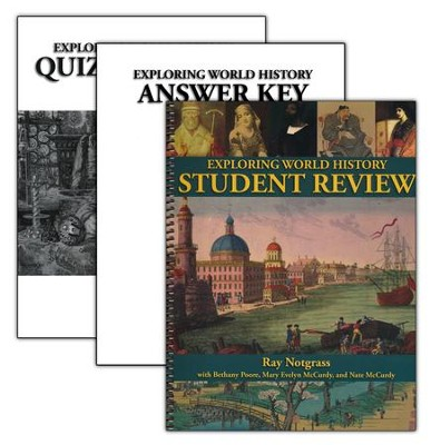 Exploring World History Student Review Pack with Quiz & Test Book, Updated   -