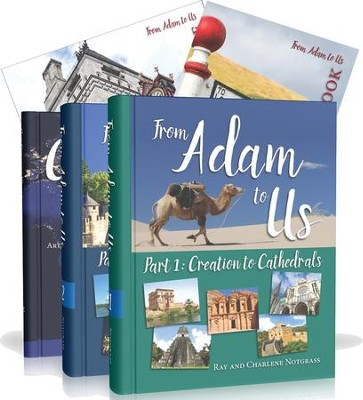 From Adam to Us--Curriculum Package   -