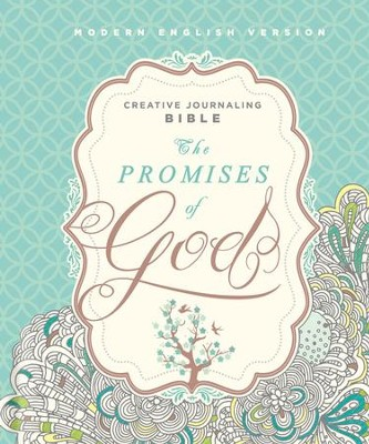 MEV The Promises of God Creative Journaling Bible, Hardcover   -