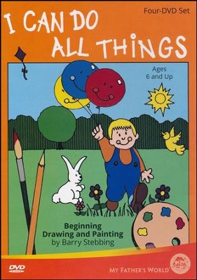 I Can Do All Things: Beginning Drawing and Painting DVD Set (4 DVDs)  -     By: Barry Stebbing