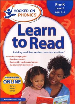 Hooked On Phonics: Learn To Read Pre-K Level 2   -