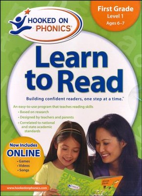 Hooked On Phonics: Learn To Read First Grade Level 1   -