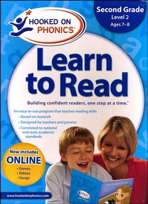 Hooked On Phonics: Learn To Read Second Grade Level 2   -