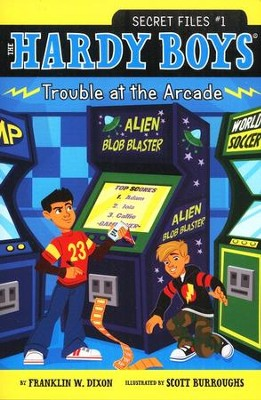 #1: Trouble at the Arcade  -     By: Franklin W. Dixon     Illustrated By: Scott Burroughs