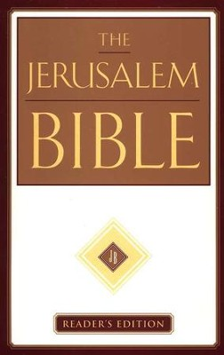 The Jerusalem Bible, Reader's Edition   -     Edited By: Alexander Jones