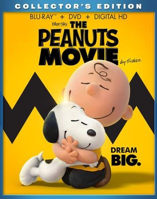 The Peanuts Movie, Blu-Ray/DVD Combo Pack   -