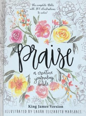 Praise: A Creative Journaling Bible  -     By: Laura Marshall