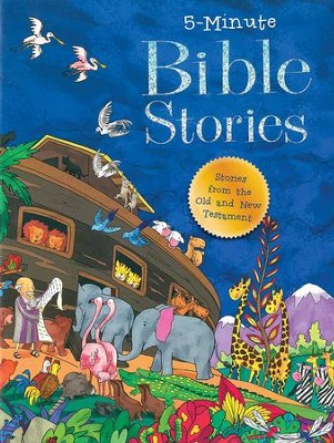 5 Minute Bible Stories  -     By: North Parade Publishing