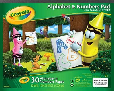 Crayola, Beginning ABC and 123 Tablet  -