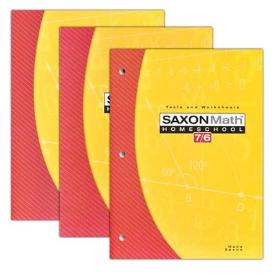 Saxon Math 76 Home Study Kit Fourth Edition   -