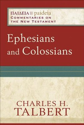 Ephesians and Colossians - eBook  -     By: Charles H. Talbert