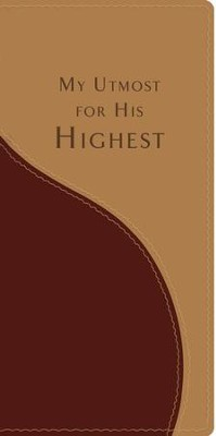 My Utmost for His Highest, Pocket Edition, Imitation Leather    -     By: Oswald Chambers