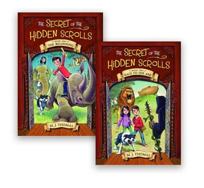 The Secret of the Hidden Scrolls, Volumes 1 & 2  -     By: M.J. Thomas