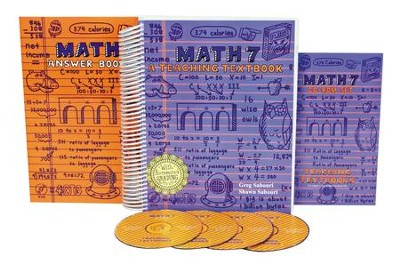 Teaching Textbooks Math 7 Complete Kit   -     By: Greg Sabouri, Shawn Sabouri