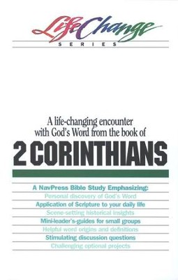 2 Corinthians, LifeChange Bible Study   -
