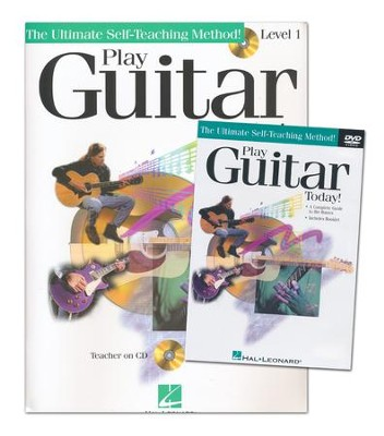 Play Guitar Today Beginner's Pack-Book/CD/DVD   -