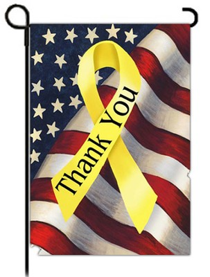Thank You Troops Flag, Small  -