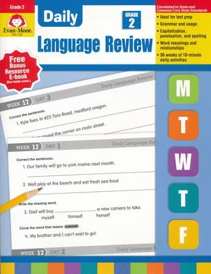 Daily Language Review, Grade 2 (2015 Revised Edition)   -