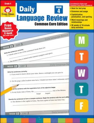 Daily Language Review, Grade 4 (2015 Revised Edition)   -