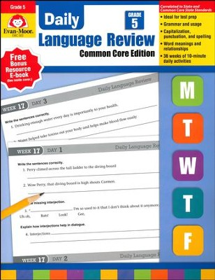 Daily Language Review, Grade 5 (2015 Revised Edition)   -