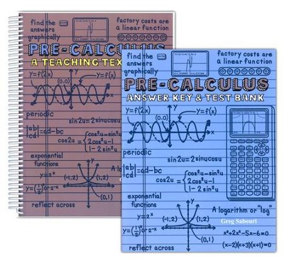 Teaching Textbooks Pre-Calculus Textbook and Answer Key   -     By: Greg Sabouri