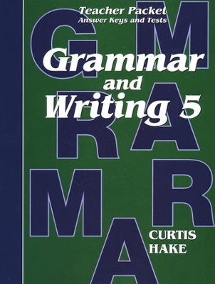Saxon Grammar & Writing Grade 5 Teacher Packet, 1st Edition     -     By: Stephen Hake, Christie Curtis, Mary Hake