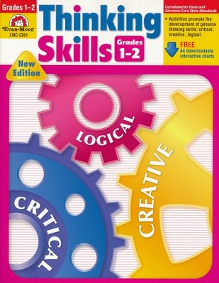 Thinking Skills with CD-ROM, Grades 1-2   -     By: Homeschool