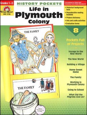 History Pockets: Life in Plymouth Colony, Grades 1-3   -