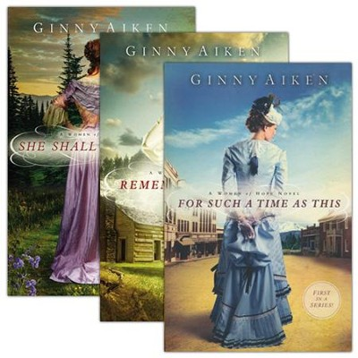 Women of Hope Series, Volumes 1-3  -     By: Ginny Aiken