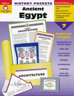 History Pockets: Ancient Egypt, Grades 4-6   -