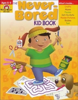 The Never-Bored Kid Book, Ages 8-9    -