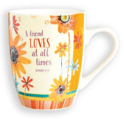 A Friend Loves at All Times Mug  -     By: Robbin Rawlings