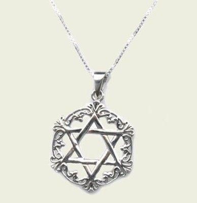 Queen Esther Star of David Necklace   -
