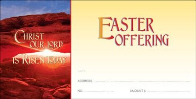 Christ Our Lord Is Risen Today, Offering Envelopes, 100  -