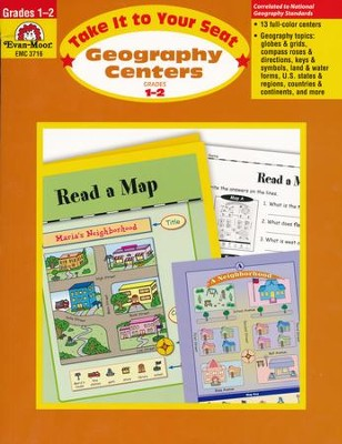 Take It to Your Seat: Geography Centers, Grades 1-2   -