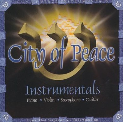City Of Peace Instrumentals, Compact Disc [CD]   -