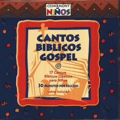 Cantos Biblicos Gospel/Gospel Bible Songs, Compact Disc [CD], Spanish Edition  -     By: Cedarmont Ninos
