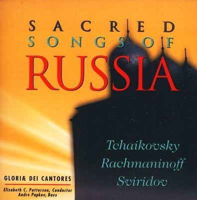 Sacred Songs of Russia, Compact Disc [CD]  -     By: Gloriae Dei Cantores